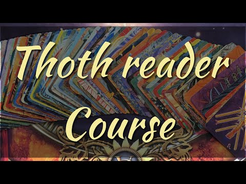 THOTH Tarot Reading Course - Swords 1