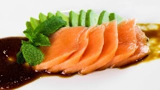 Cooked Salmon Sashimi Recipe - Sous Vide Cooking