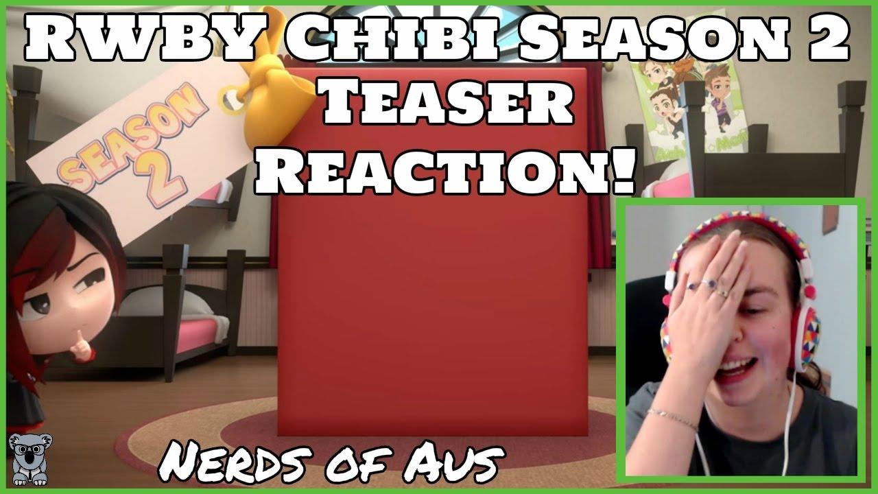 503e6d359 Cuteness Overload! OMG! RWBY Chibi Season 2 Teaser Reaction! - YouTube