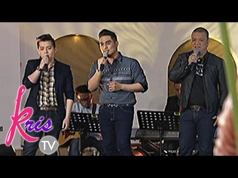 Powerful voices Mitoy, Jason and Jed sing