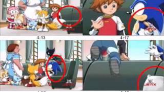 Errores en Sonic X, parte 1 (Loquendo).