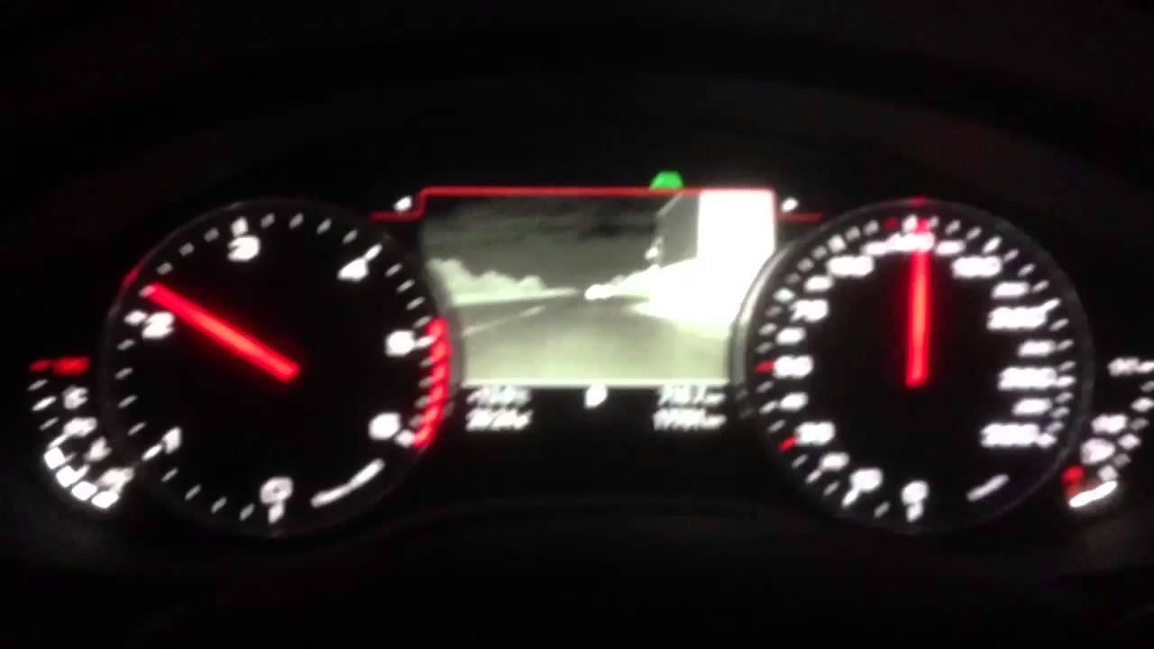Vorstellung der Nachtsichtkamera im Audi A6 Avant - Presentation of
