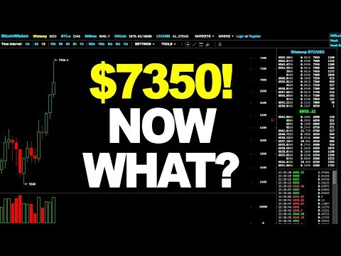 Bitcoin Price Technical Analysis - $7350! NOW WHAT? (November 2nd 2017)