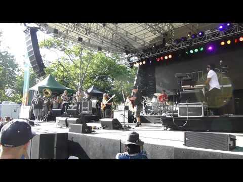 Lettuce -ft Soul Rebels-  Sam Huff's Flying Raging Machine 6-13-15 Central Park, NYC