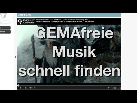 Gute GEMAfreie Musik für Videos finden leicht gemacht