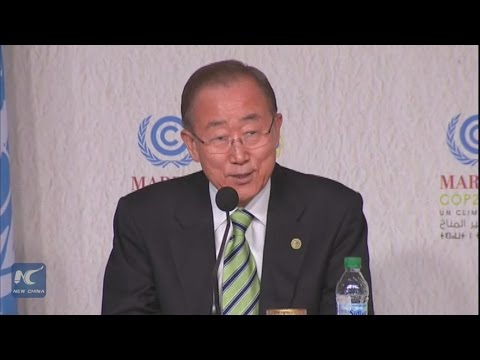 UN chief optimistic about U.S. involvement in climate action