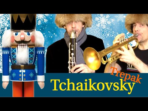 Tchaikovsky Trepak from Nutcracker for clarinet ensemble, percussions and trumpets