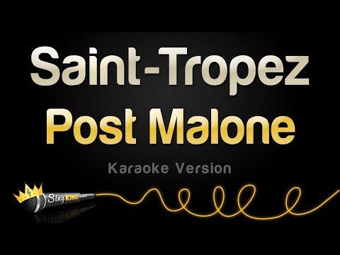 Post Malone - Saint-Tropez (Karaoke Version)
