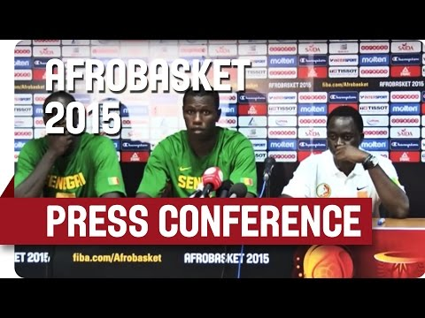 Senegal v Nigeria - Post-Game Press Conference  - AfroBasket 2015