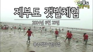 제부도 갯벌체험 2004년6월23일
