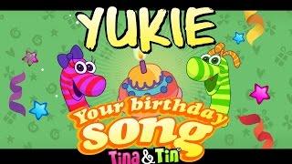 Tina&Tin Happy Birthday YUKIE