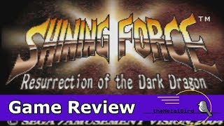 It's Not Fire Emblem!   Shining Force (Game Boy Advance)  -  Game Review