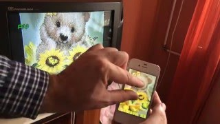 Як підключити iPhone 4s до Телевізора? How to connect your iPad 2,3 iphone 4,4 S to the TV?