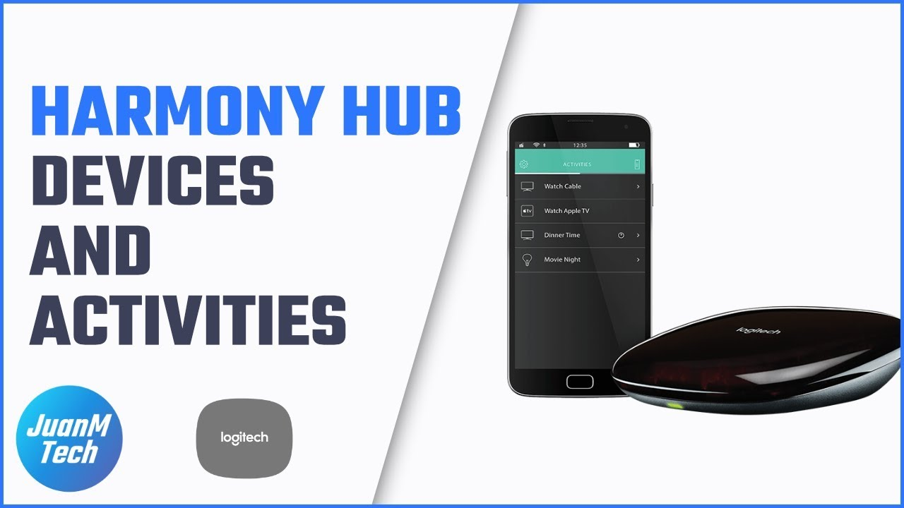 d4af301ae23 How to setup devices and activities in a new Harmony Hub - YouTube