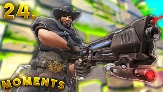 WAS THAT 1320 HOURS OF MCCREE..!? | Overwatch Daily Moments Ep. 24 (Funny and Random Moments)