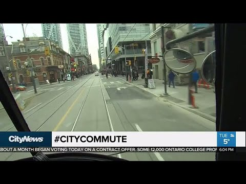 How much faster is the 504 streetcar with the new rules on King Street?