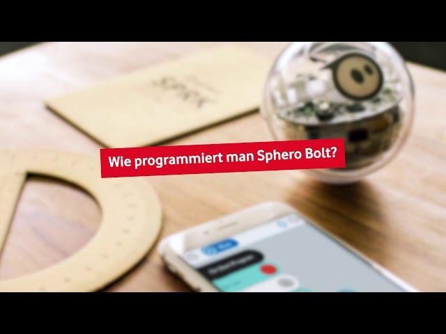 Sphero Bolt - Wie programmiert man Sphero Bolt?