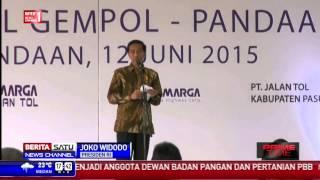 Jokowi Resmikan Tol Terpanjang di Indonesia Cikopo-Palimanan