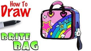 How to Draw the Brite Bag | Fortnite
