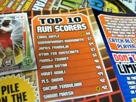 Cricket Attax 2012  The Deluxe Starter Pack And My Collection Till Now