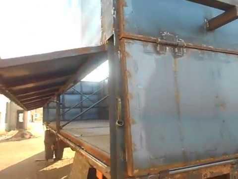 Сварил прицеп зерновоз МАЗ , сколько материала ушло