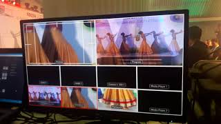 Multi Camera Live Vision Mixing At Event Cine Media Live Video Team Homagama 071 742 4410