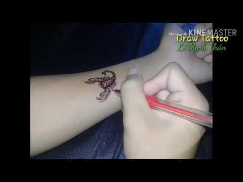 Hướng Dẫn Vẽ Hình Xăm Bọ Cạp | Draw Tattoo | Tất tần tật các tài liệu liên quan hình xăm con bọ cạp mới cập nhật