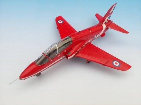 Airfix RAF Red Arrows Hawk 1/72 | The Inner Nerd