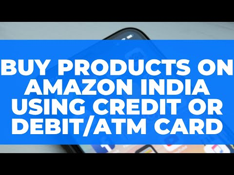 Buy Products On Amazon India Using Credit Debit Card Card Se Kaise Shopping Karein