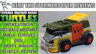 TMNT Nick Turtles 2015 Party Wagon Review!