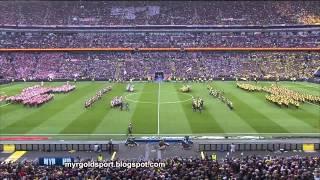2013 UEFA Champions League Final Opening Ceremony, Wembley Stadium, London