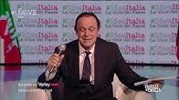 """Crozza Berlusconi """"Io mi considero il legittimo erede di De Gasperi"""""""