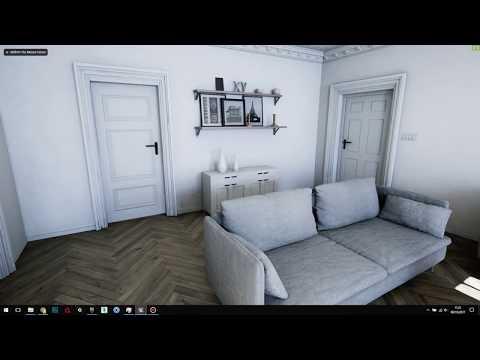 UE4 Archviz - Scandinavian Appartment overview tutorial