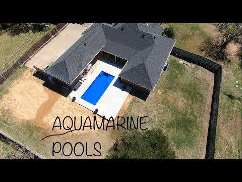 Aqua Pools  Fiberglass Pool Install