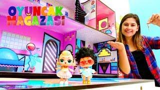 LOL bebekler ile oyun videosu. Ayşe'nin oyuncak mağazası. LOL oyuncaklara yeni ev!
