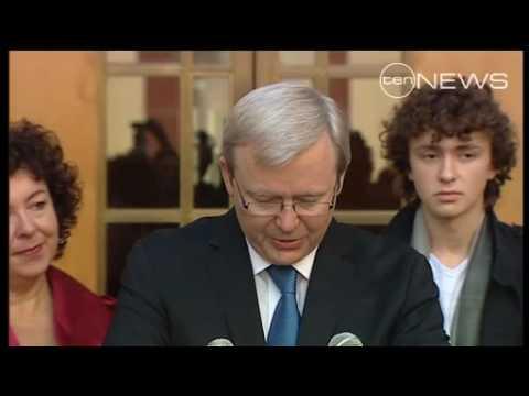 Rudd S Resignation Youtube