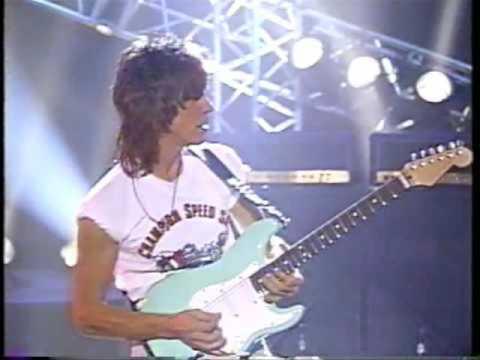 Jeff Beck- The Centrum Worcester, Mass 11/8/89