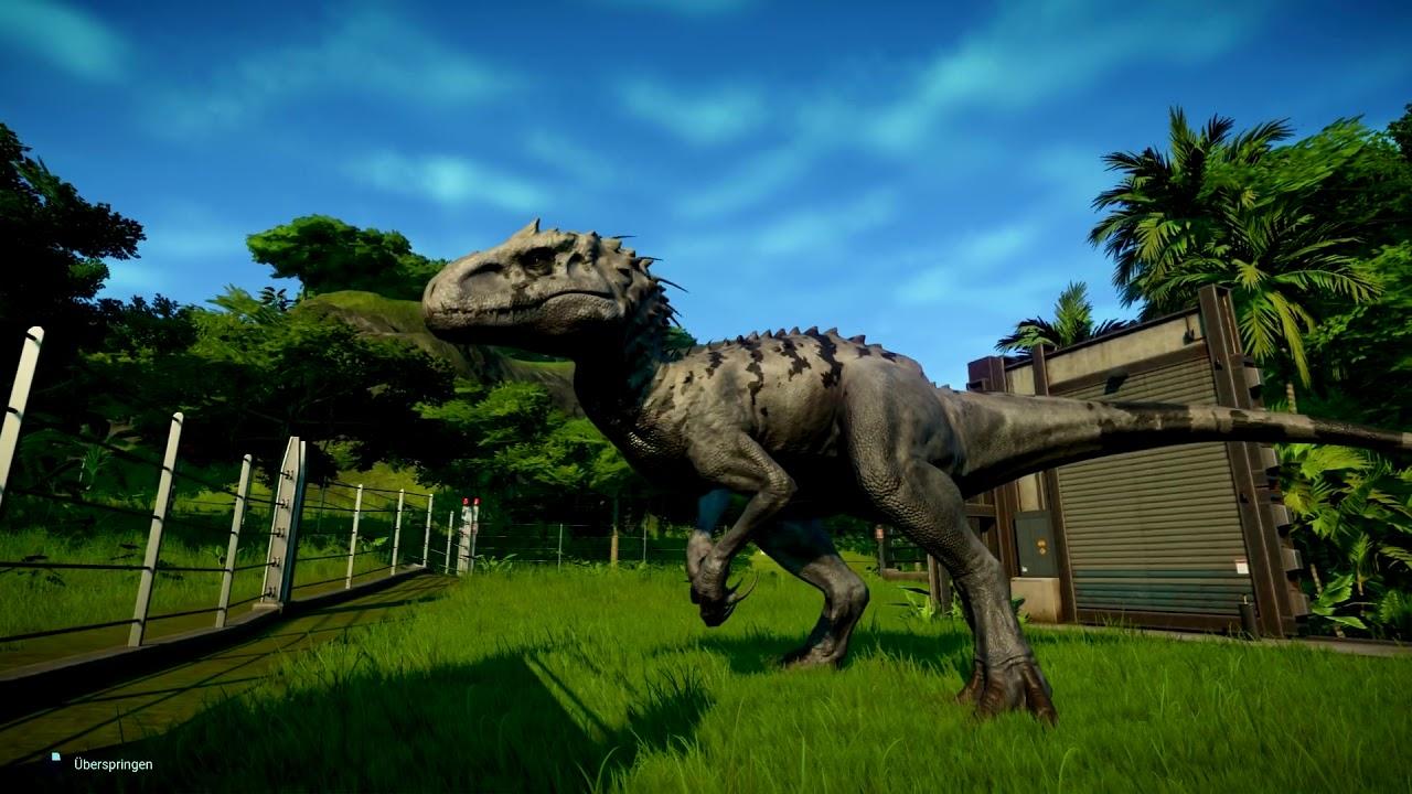 Der Indominus Rex Jurassic World Evolution 025 Gameplay German Deutsch
