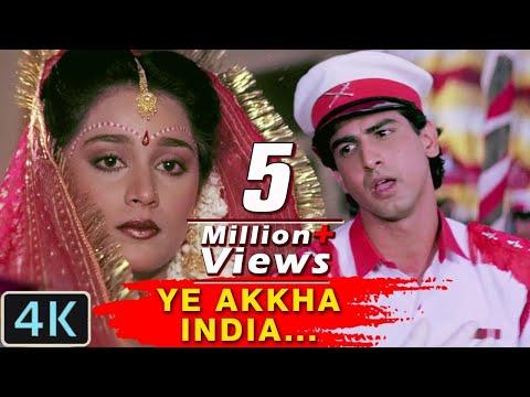 Akha India Janta Hai | Romantic 4K Video Song | Jaan Tere Naam | Kumar Sanu Hits