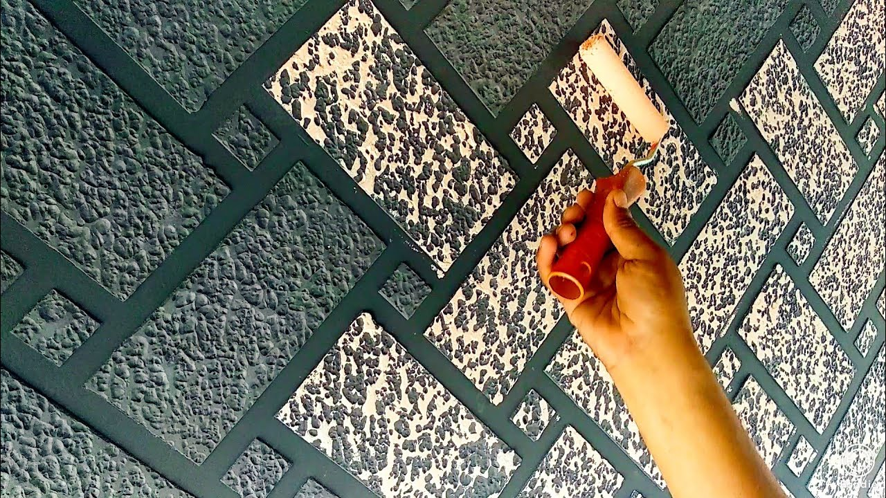 Brick wall painting ideas for interior wall decor.. - YouTube on Brick Painting Ideas  id=91255