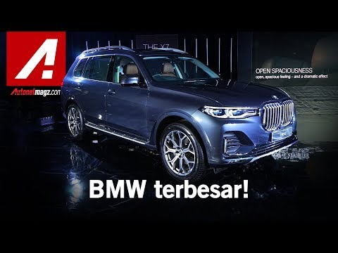 BMW X7 2019 First Impression Review By AutonetMagz