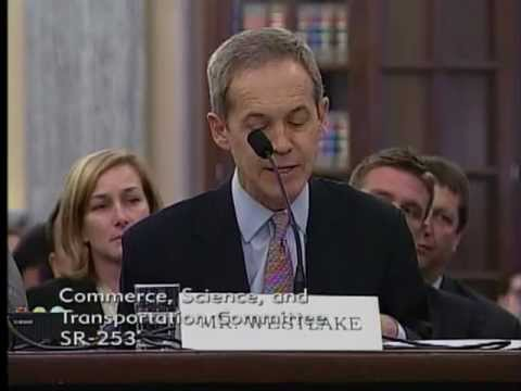 Blair Westlake Testifies to Senate Commerce, Science and Transportation Committee