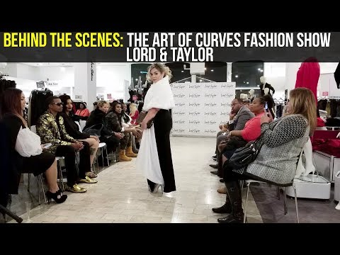 Behind The Scenes   The Art Of Curves At Lord & Taylor