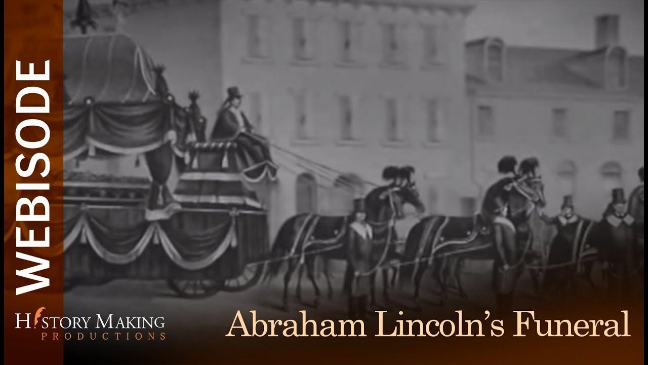 Abraham Lincoln S Funeral Procession Through Philadelphia Youtube