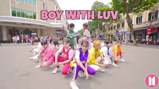 [KPOP IN PUBLIC] Boy With Luv (작은 것들을 위한 시) - BTS feat. Halsey dance cover by 17U from Vietnam
