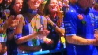 valentino rossi  Di podium sirkuit jerez spanyol 2016