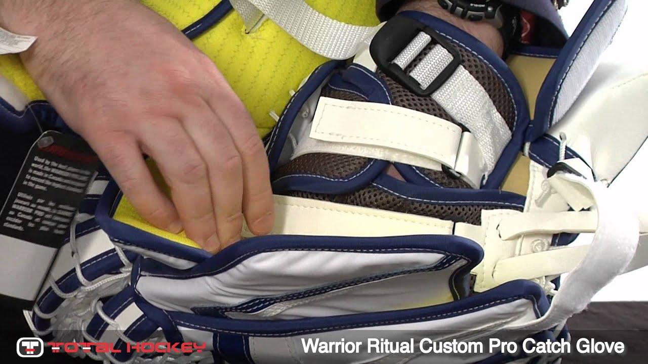 Warrior Ritual Custom Pro Goalie Catch Glove