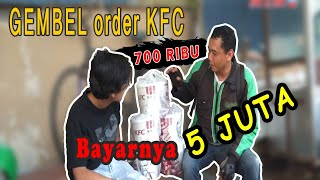 GEMBEL Order KFC 700Ribu, Bayarnya 5Juta. Curhat Abang Ojol Bayinya Meninggal!!