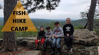 Camping at Robbers Cave State Park in Oklahoma(Part 1)