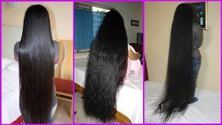 চুলের গোড়াতে এটি লাগিয়ে রাখুন।লম্বার কারনে চুল কাটতে হবে।Get Long Hair